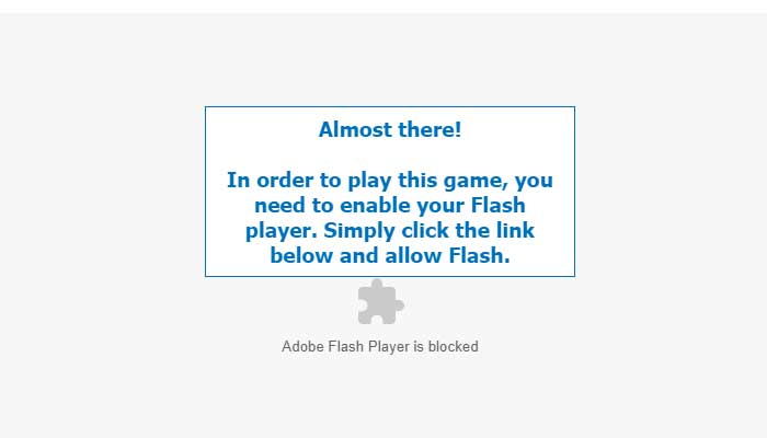 Cara Mengatasi Adobe Flash Player is Blocked