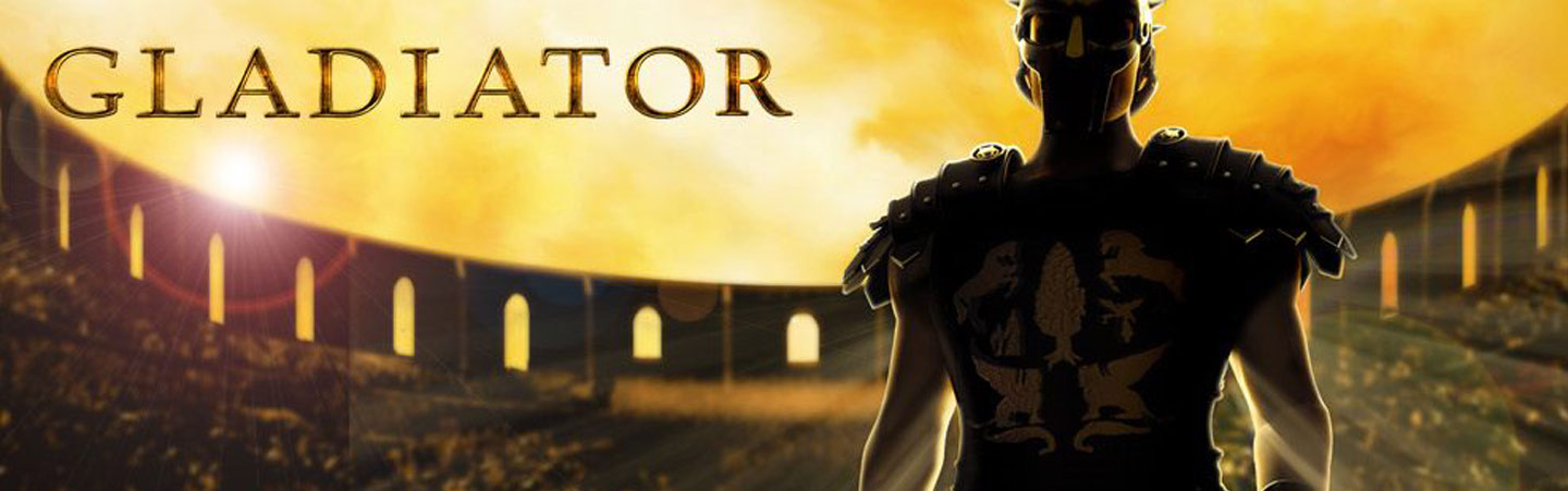 here comes the gladiator